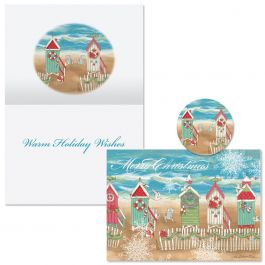 Holiday by the Sea Christmas Cards  -  Nonpersonalized