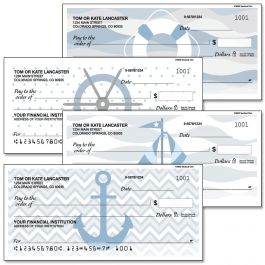 Nautical Chic Personal Single Checks