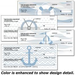Nautical Chic Single Checks