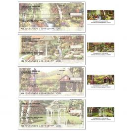 Peaceful Moments Single Checks with Matching Address Labels