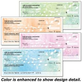 Floral Notes Duplicate Checks