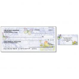 Exotic Prints Single Checks with Matching Address Labels