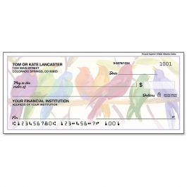 Flocked Together Personal Single Checks
