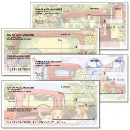 Red Truck Personal Single Checks