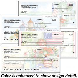 Land of Liberty Duplicate Checks