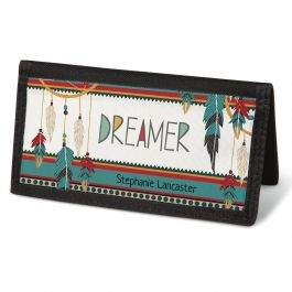 Dreamcatchers Checkbook Cover - Personalized