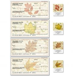 Fallen Leaves Duplicate Checks with Matching Address Labels