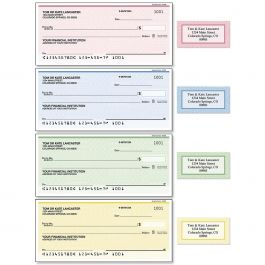Security Collection Single Checks with Matching Address Labels