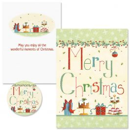 Christmas Treats Christmas Cards - Nonpersonalized