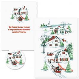 Nostalgic Memories Christmas Cards - Nonpersonalized