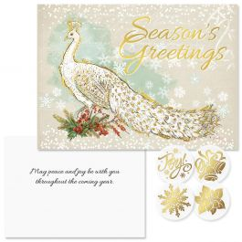 Majestic Foil Christmas Cards - Nonpersonalized