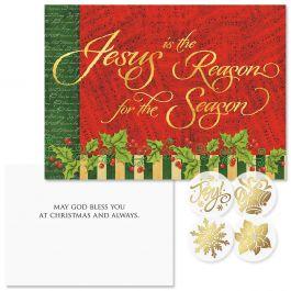 Joyful Season Christmas Cards - Nonpersonalized