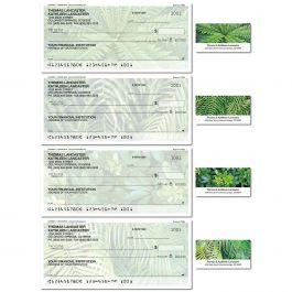Botanical Single Checks with Matching Labels
