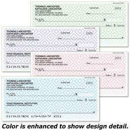 Diamond Pattern Single Checks