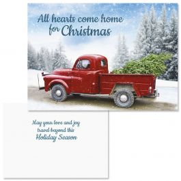 Winter Road Christmas Cards - Nonpersonalized
