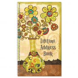 Gypsy Garden Lifetime Address Book