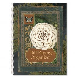 Poetic Garden Bill Paying Organizer