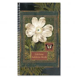 Poetic Garden Lifetime Address Book