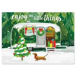 Christmas Getaway Christmas Cards - Nonpersonalized