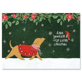 Cozy Christmas Cards - Personalized