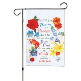 Personalized Mixed Floral Garden Flag