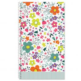 Rainbow Daisies Password and Pin Keeper