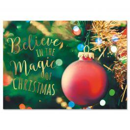 Joyful Christmas Cards - Personalized