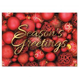 Abundant Christmas Cards - Personalized