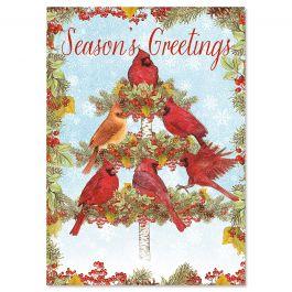 Cardinal Tree Christmas Cards - Personalized