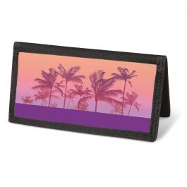 Tropical Palms Checkbook Cover - Non-personalized
