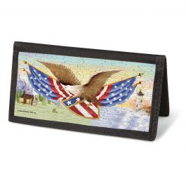 American Eagle Checkbook Cover- Nonpersonalized