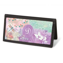 Vibrant Dragonflies Checkbook - Personalized