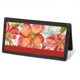 Floral Daydream Checkbook Cover - Non-Personalized