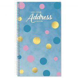 Bold Geo Lifetime Address Book