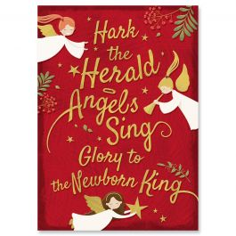Newborn King Christmas Cards - Personalized