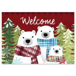 Christmas Bear Family Christmas Cards - Personalized