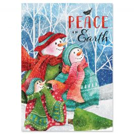 Winter Pals Christmas Cards - Personalized