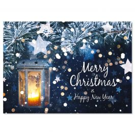 Beautiful Greeting Christmas Cards - Personalized