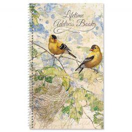 Feathered Nest Lifetime Address Book
