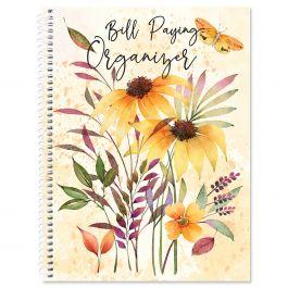 Autumn Flourish Bill Paying Organizer
