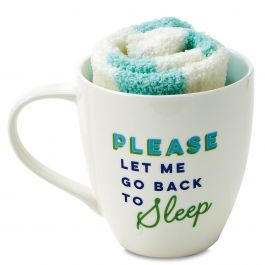 Please Let Me Go Back to Sleep Mug