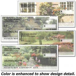 Gorgeous Gardens Single Checks