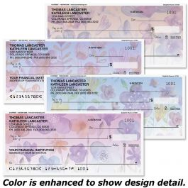 Delightful Flowers Single Checks