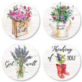 Bouquets Seals (4 Designs)