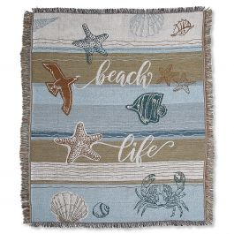 Coastal Woven Throw