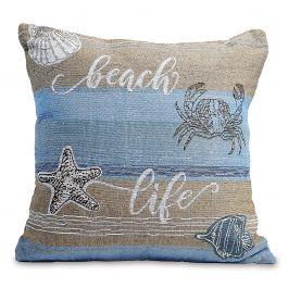 Coastal Woven Pillow