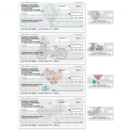 Fly Away Duplicate Checks With Matching Address Labels