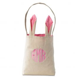 Custom Pink Easter Tote with Ears