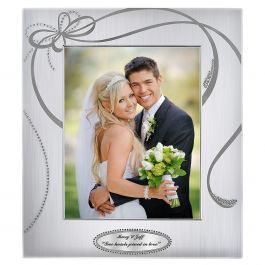 Custom Ribbons Picture Frame - 8 x 10