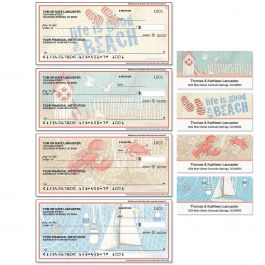 Coastal Duplicate Checks with Matching Address Labels